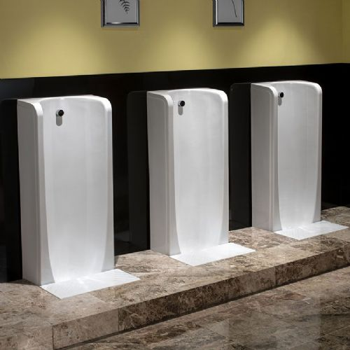 Healey & Lord Niagara Tall Floor Standing Urinal